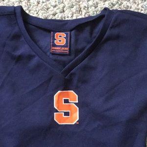 Syracuse polyt shirt sz Lg